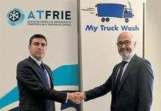 Truck Wash Europa y Atfrie firman un acuerdo de colaboración
