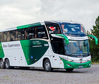 Marcopolo entrega 16 autobuses a Boa Esperanca, desde Brasil