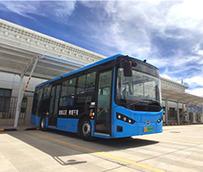 70 urbanos eléctricos BYD B8 comienzan a operar en Shigatse, Tíbet