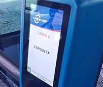 La EMT de Málaga instala nuevas validadoras en su flota