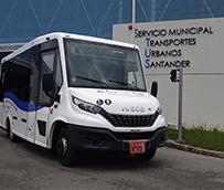 Tus Santander prueba el microbús de Iveco Bus GNC para uso urbano