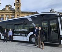 Dbus prueba en San Sebastián el autobús 100% eléctrico de MAN