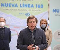 En marcha la nueva línea 163 de autobús EMT entre Aravaca y El Plantío