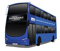 Autobuses de cero emisiones para el centro de hidrógeno del Reino Unido