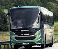 Estreno del primer autobús internacional de biogás de Scania