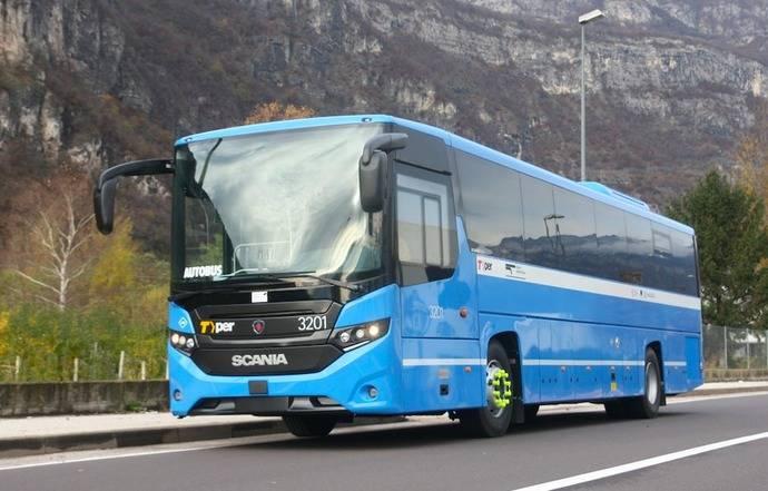 Más de 3.155 millones de viajeros usaron el transporte público en autobús, en 2019