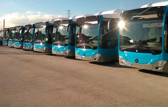 Confebus consigue que las empresas de autobús se beneficien de los ERTE