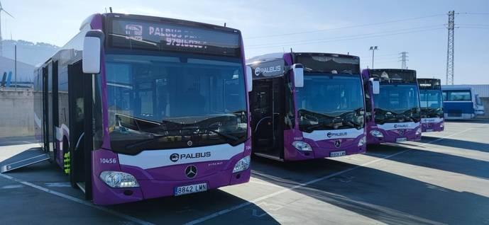 Más de la mitad de los buses del transporte urbano de Palencia, serán híbridos