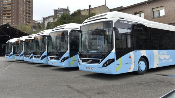 TUS compra seis autobuses híbridos y tres microbuses por 2,3 millones euros