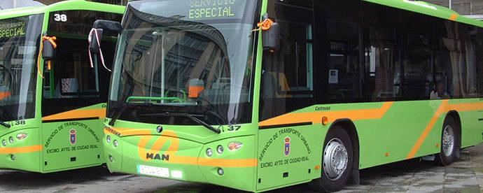 Ciudad Real efectúa una campaña para fomentar el uso de los autobuses urbanos