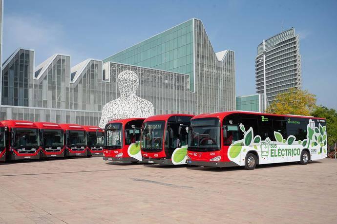 Autobuses urbanos de Zaragoza.