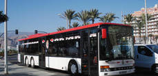 Almería celebra la SEM con transporte gratis y música en los autobuses
