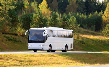 El autobús, uno de los transportes por carretera más seguros según la DGT