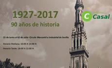 Autocares Casal y su 90 aniversario, en el Círculo Mercantil de Sevilla