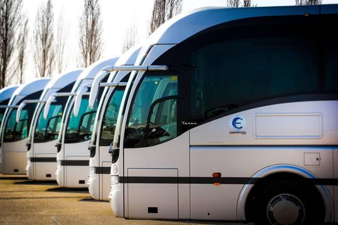 Eurorutas exige ayudas para los transportes discrecional y turístico