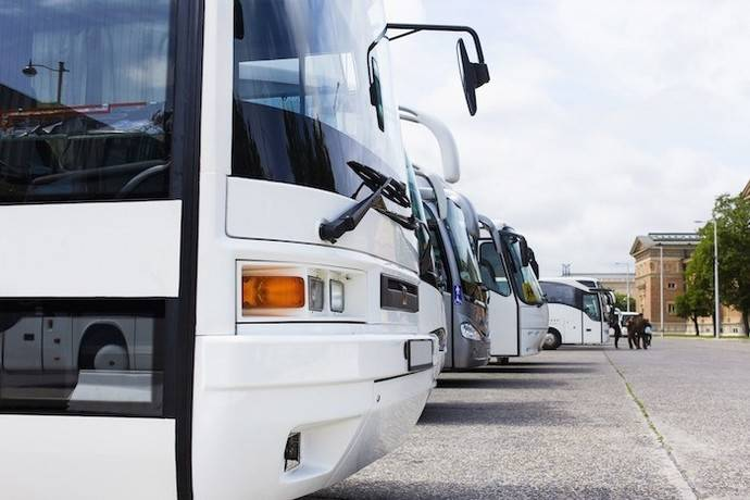 Las matriculaciones de autobuses descienden un 8,5% en el mes de abril