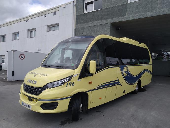 Autocares Vivas vuelve a confiar en Unvi y en Iveco