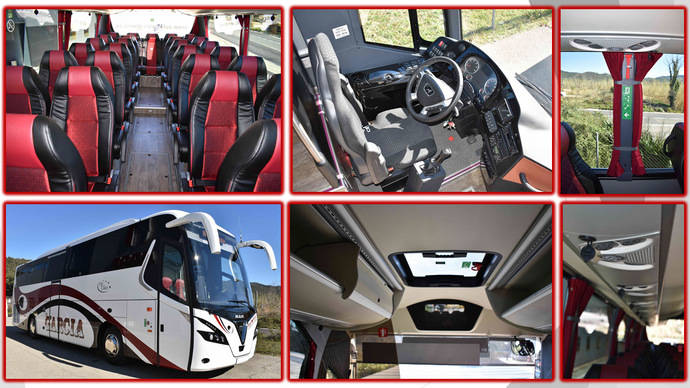 Nogebus proporciona un Touring HDH a Autocares García