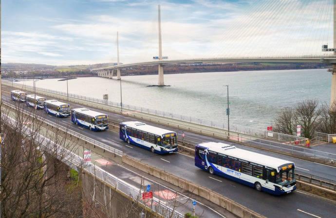 Autobuses autónomos en transporte público