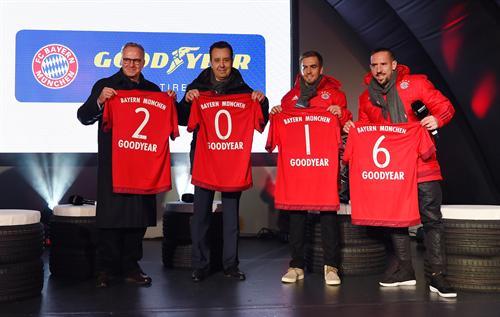 Goodyear, patrocinador del Bayern de Múnich