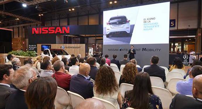 Nissan presenta su estrategia para empresas en la feria Madrid Auto