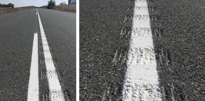 La Dirección General de Tráfico instala guías sonoras en carreteras convencionales