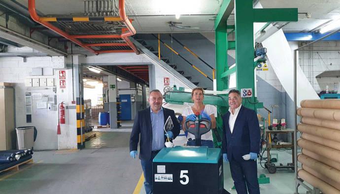 Cinco transpaletas eléctricas Baoli para Acabados Europeos del Grupo Ortiz