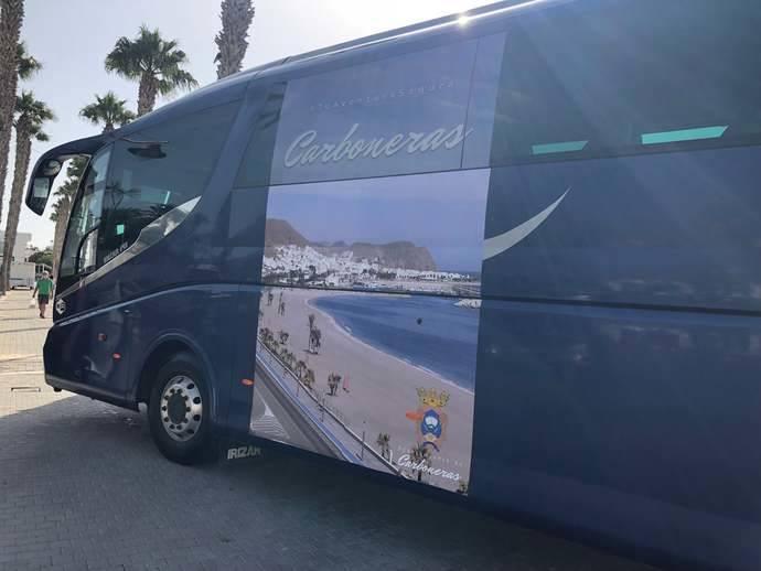 Autocares Baraza unirá el Levante almeriense con la Playa de los Muertos