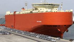 El 87% de vehículos exportados en 2015 fue desde los puertos
