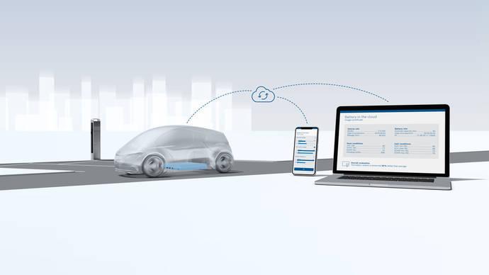 Bosch amplía la vida útil de las baterías de vehículos eléctricos