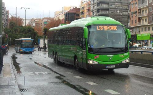 El CRTM coordina el transporte público de Belmonte de Tajo