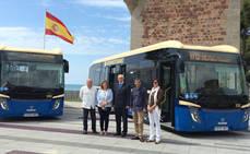 Benicàssim refuerza su transporte urbano con dos nuevos autobuses ecológicos