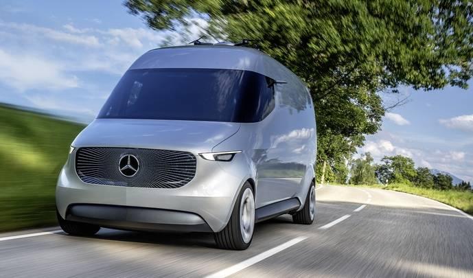 Vision Van es la nueva apuesta de Mercedes-Benz para revolucionar la última milla