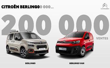 La tercera generación del Berlingo supera las 200.000 ventas