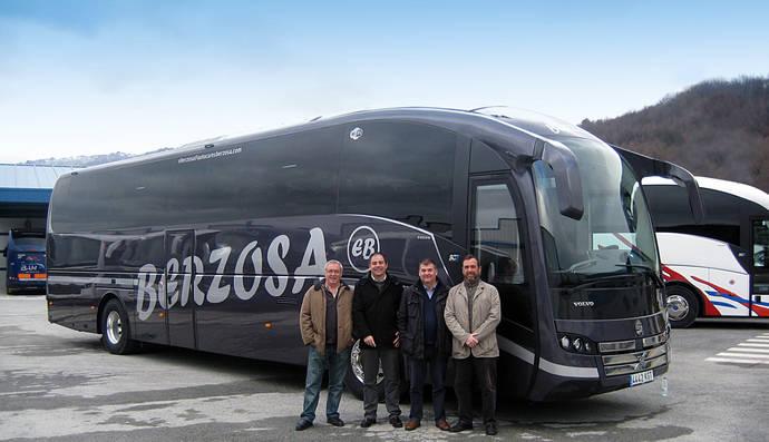 Autocares Berzosa adquiere un SC7 de Sunsudegui