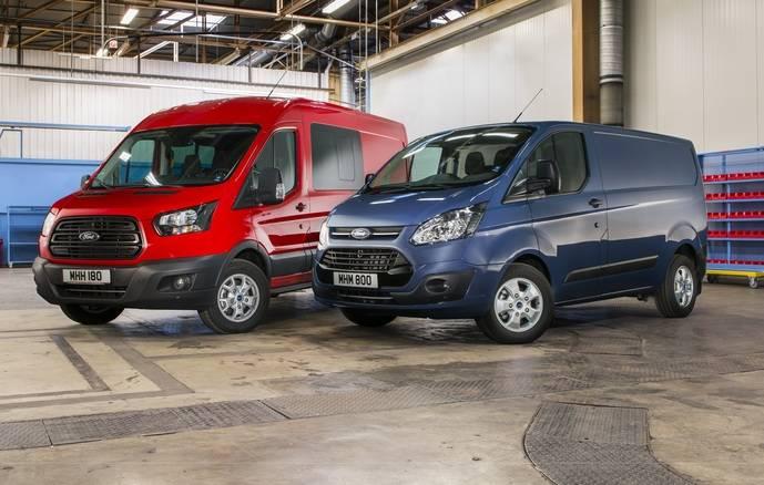 Nueva Ford Transit y Transit Custom, consumos reducidos y mayor rendimiento
