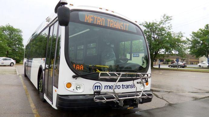 Biden destaca los autobuses eléctricos en Wisconsin