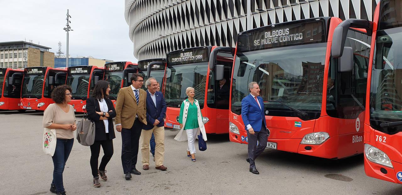 Bilbobus renovará el 20% de su flota antes de 2020
