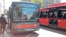 Bilbobus ha incorporado tres vehículos eléctricos a su flota de autobuses