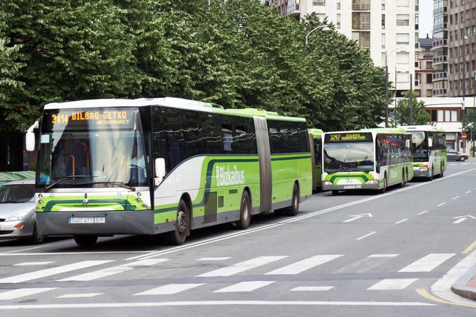 Los menores de 6 años y los acompañantes de PMR viajarán gratis en Bizkaibus
