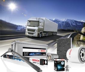 Bosch continua apostando por el vehículo industrial