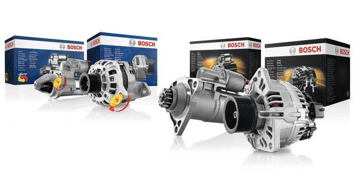 Motores de arranque y alternadores Bosch de intercambio, máxima fiabilidad