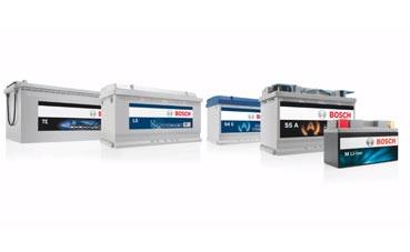 Rendimiento de las nuevas baterías Bosch en los vehículos