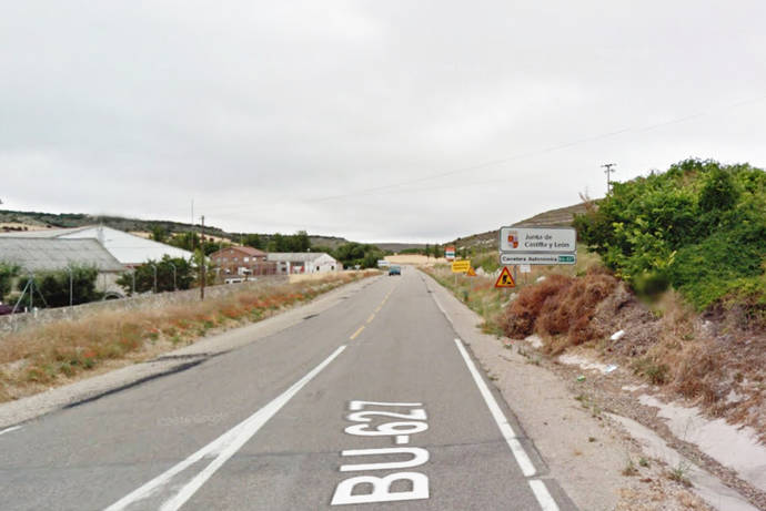 Castilla y León ultima las obras de mejora del tramo de 17,5 kilómetros de la carretera BU-627, con una inversión de 3,75 millones de euros