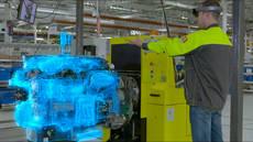 Renault Trucks prueba la Realidad Mixta para el control de calidad de los motores