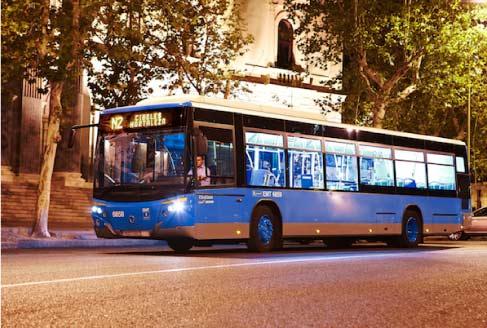 Los 'búhos' de EMT Madrid llegarán a Valdebebas, Butarque y Pitis