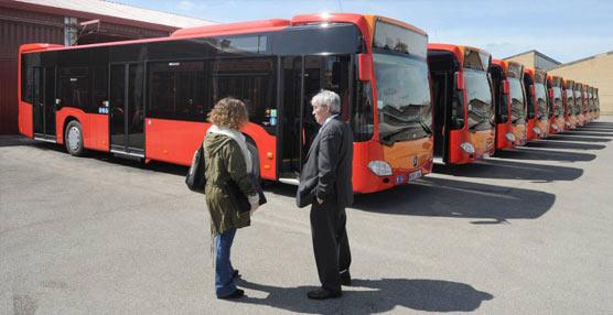 El autobús urbano de Burgos frena la pérdida de usuarios e incluso los gana en verano
