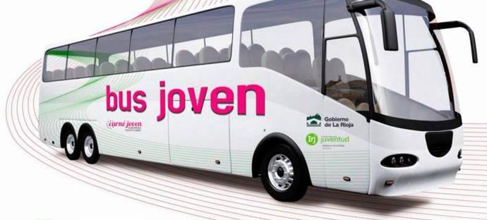 El gobierno de La Rioja estrena el novedoso servicio Bus Joven