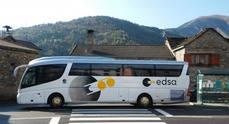 Autocares Edsa pone en marcha la línea que une Pamplona con Eibar