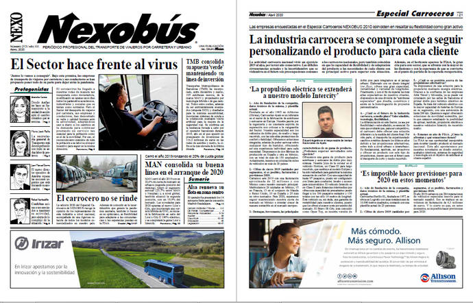 Lea la edición del Periódico NEXOBUS en pdf